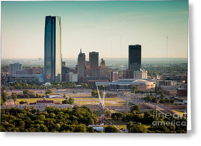 Okc_may_2014-1 Greeting Card by Cooper Ross