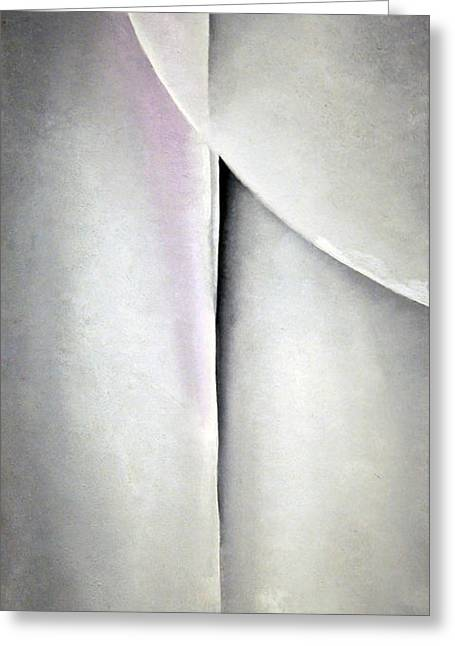 O'keeffe's Line And Curve Greeting Card