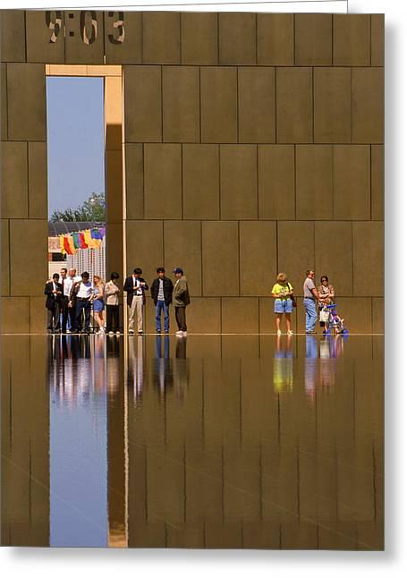 Oklahoma City Memorial Greeting Card