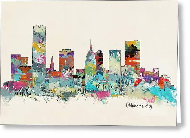 Oklahoma City Oklahoma Greeting Card
