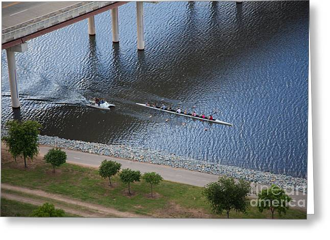 Oklahoma City Row Team Greeting Card by Cooper Ross