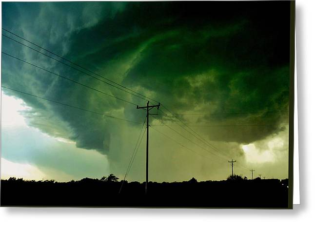 Oklahoma Mesocyclone Greeting Card