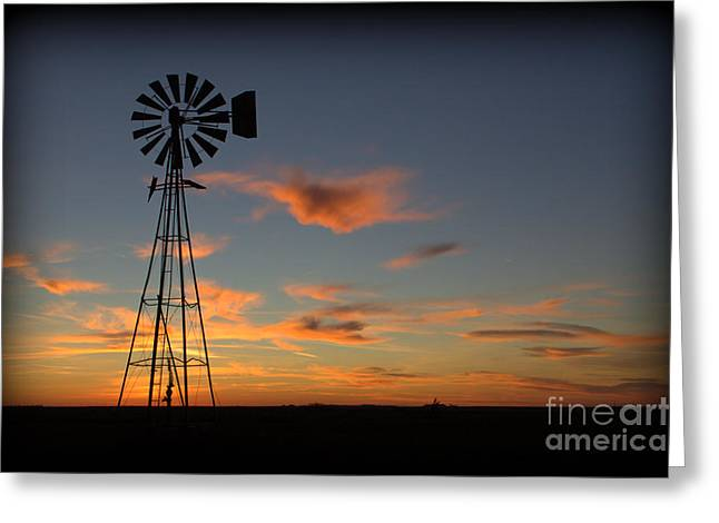 Oklahoma Skies 1 Greeting Card
