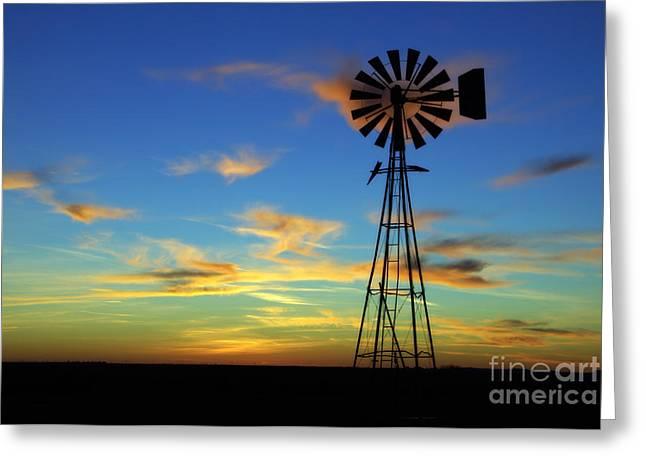 Oklahoma Skies 2 Greeting Card