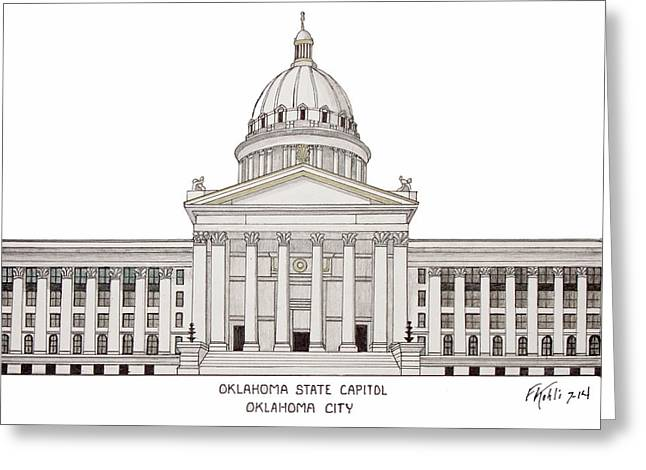 Oklahoma State Capitol Greeting Card