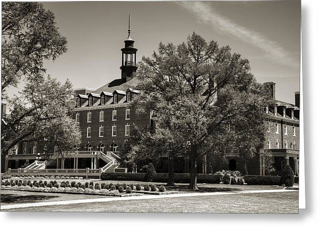 Oklahoma State Student Union Greeting Card by Ricky Barnard