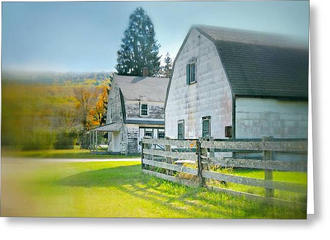 Ol' Country  Greeting Card by Diana Angstadt