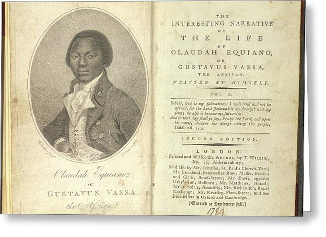 Olaudah Equiano Greeting Card