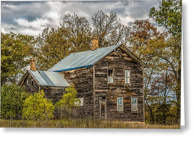 Old Abandoned House Greeting Card