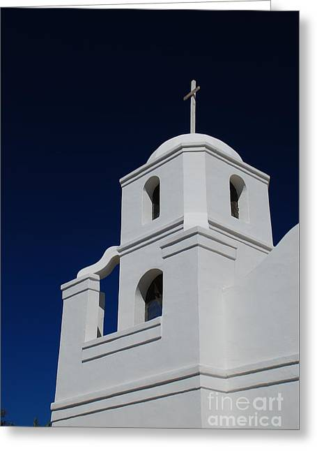 Old Adobe Mission Scottsdale Greeting Card