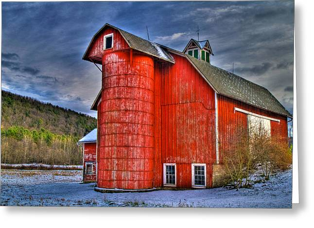 Old And Rugged Greeting Card by David Simons
