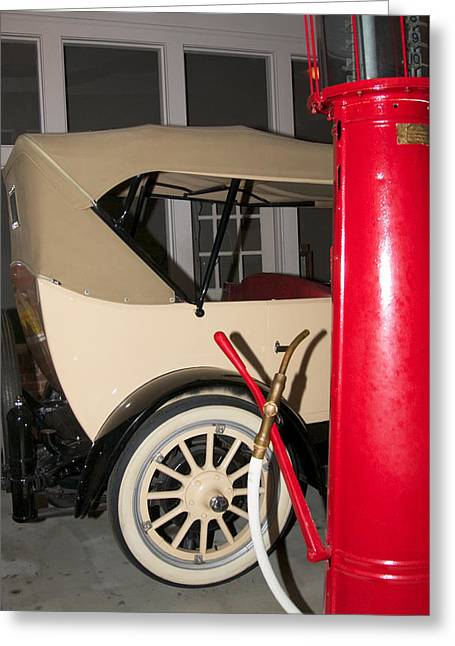 Greeting Card featuring the photograph Old Automobile by Bob Pardue