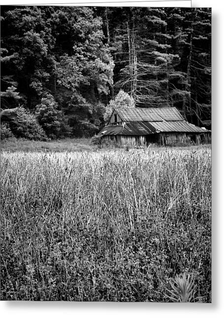 Old Barn 02 Greeting Card