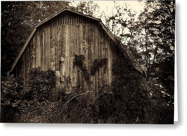 Old Barn 04 Greeting Card
