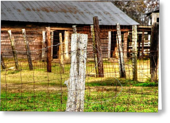 Old Barn 14 Greeting Card by Andy Savelle