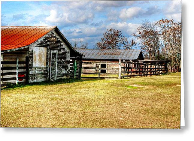 Old Barn 15 Greeting Card by Andy Savelle