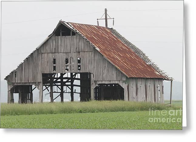 barn in Kentucky no 28 Greeting Card