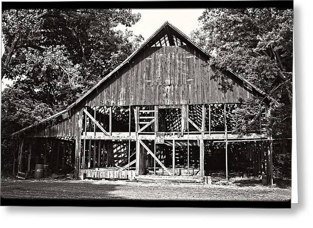 Old Barn On Hwy 161 Greeting Card