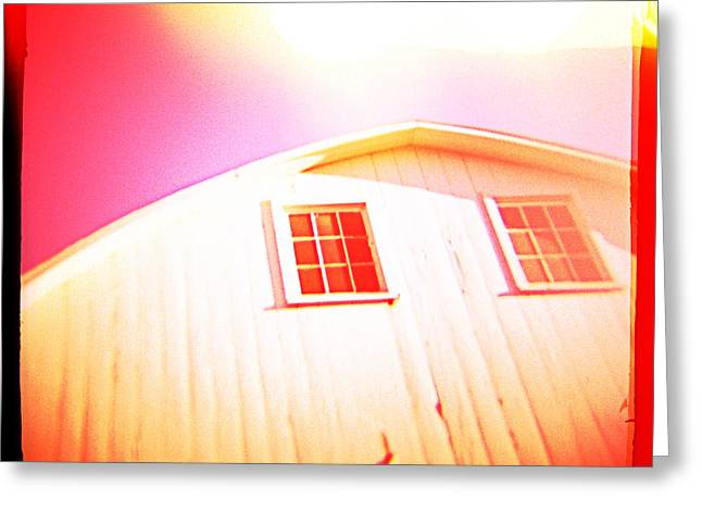 Old Barn Greeting Card by Yo Pedro