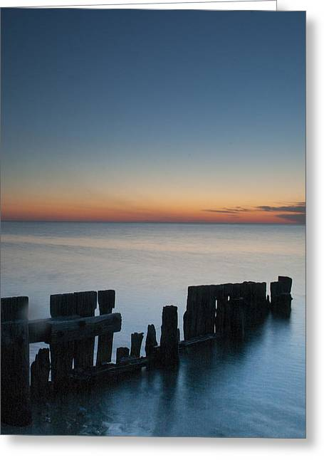 Old Breakwater Greeting Card
