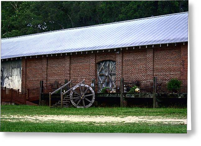 Old Building  Greeting Card by Debra Forand