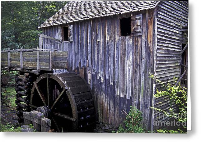 Old Cades Cove Mill Greeting Card