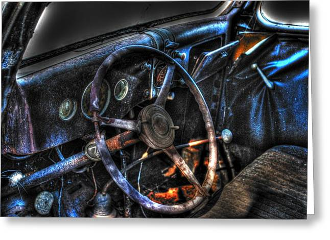 Old Car 02 Greeting Card by Andy Savelle