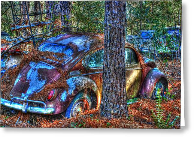 Old Car 04 Greeting Card by Andy Savelle