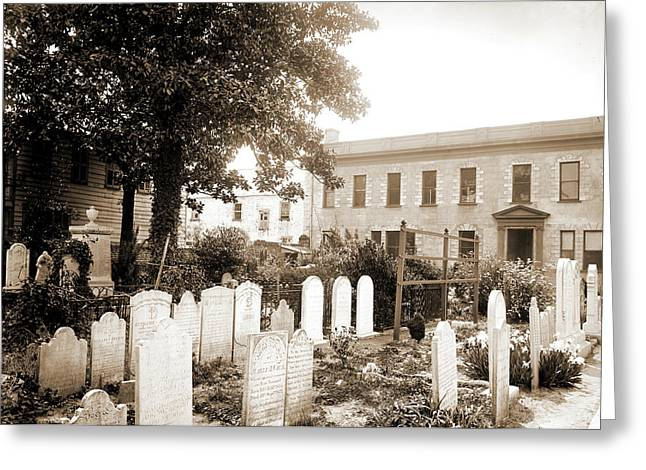 Old Cemetery, St. Michaels, Charleston Greeting Card