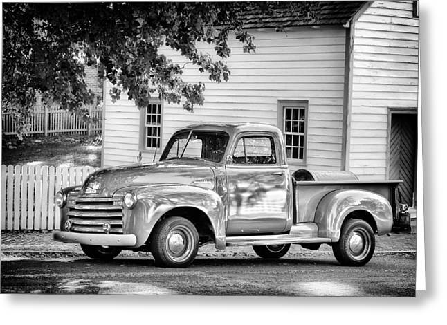 Old Chevrolet Pickup Truck Greeting Card
