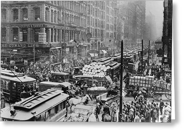 Old Chicago Photo Greeting Card by Horsch Gallery