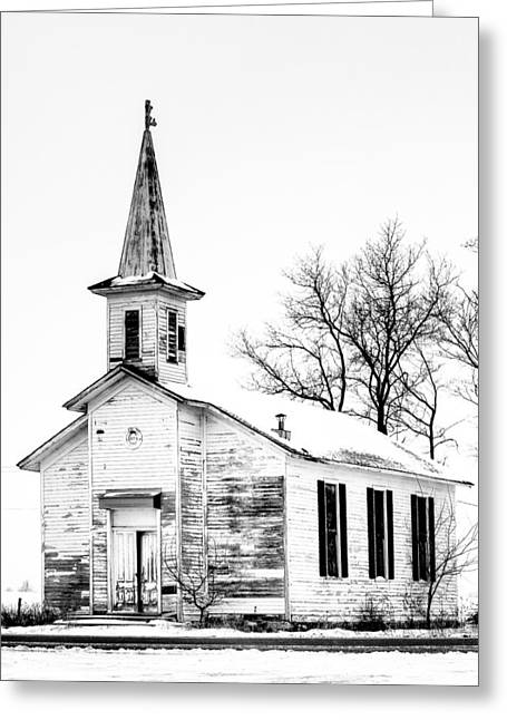 Old Church Greeting Card