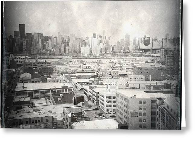 Old City 3 Greeting Card by H James Hoff
