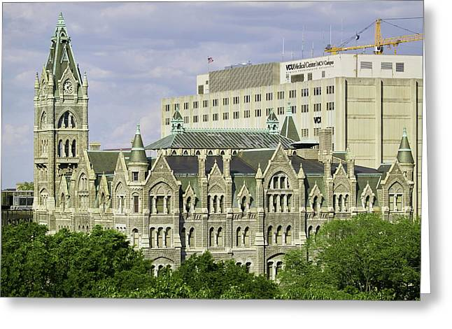 Old City Hall, Richmond, Virginia Greeting Card