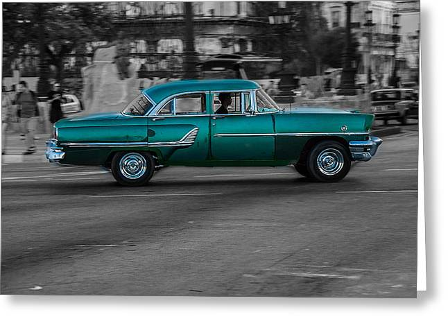 Old Classic Car IIi Greeting Card