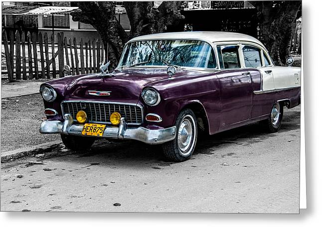 Old Classic Car Iv Greeting Card