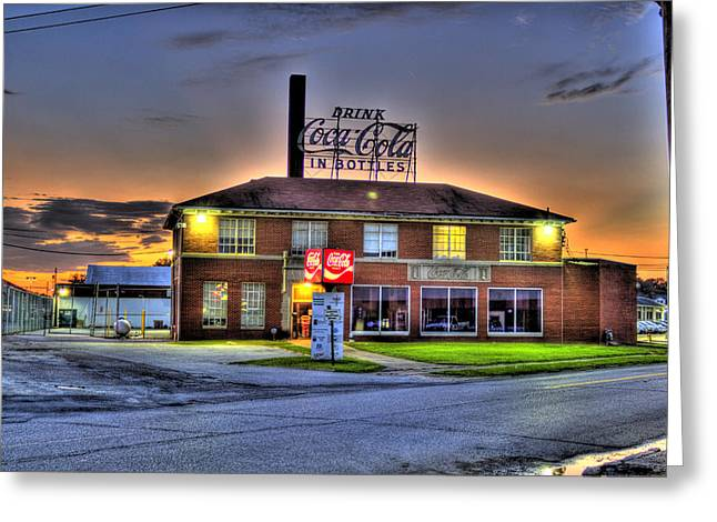 Old Coca Cola Bottling Plant Greeting Card by Jonny D