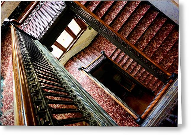 Old Court House In Evanston Wyoming - 2 Greeting Card by Ely Arsha