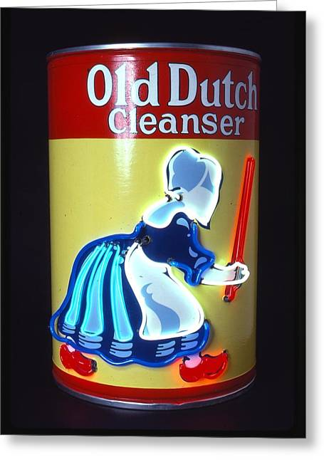 Old Dutch Cleanser Greeting Card by Pacifico Palumbo