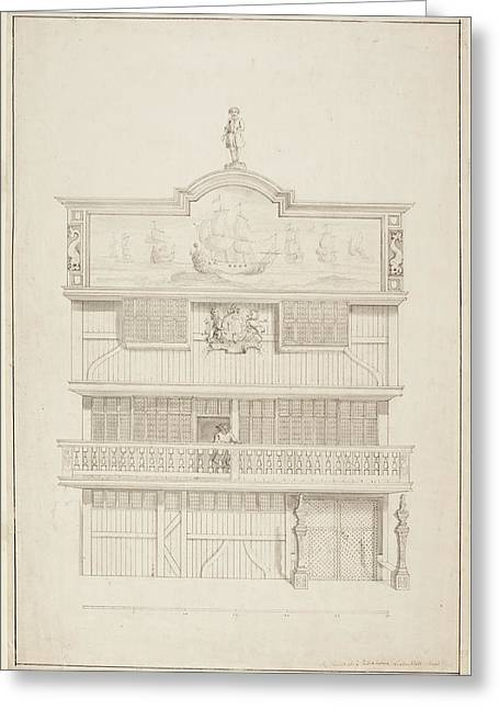 Old East India House Greeting Card by British Library