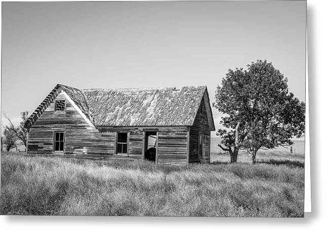 Old Farm House 2 Greeting Card by Chad Rowe