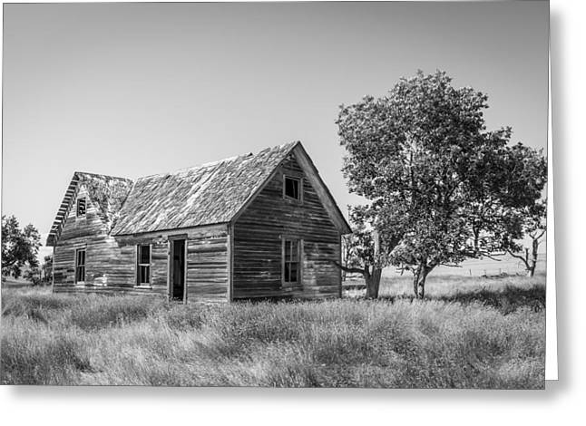 Old Farm House 4 Greeting Card by Chad Rowe
