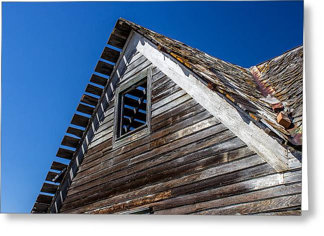 Old Farm House 5 Greeting Card by Chad Rowe