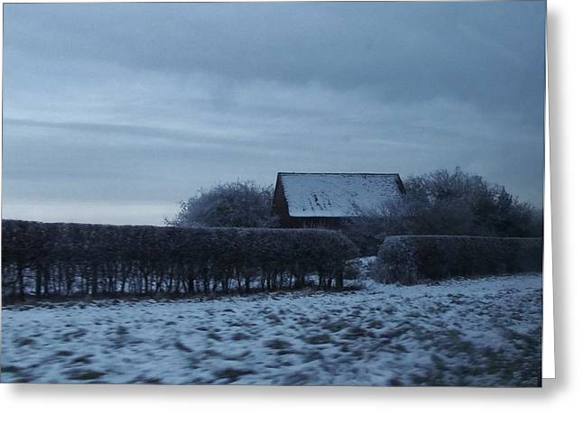 Old Farm House In Northern Yorkshire Greeting Card by Jan Moore