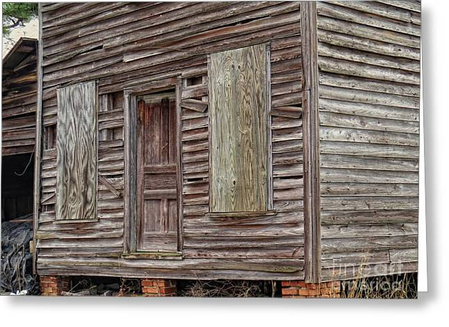 Old Farmhouse Greeting Card by Scott Cameron