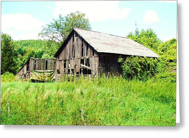 Old Farms Series 057 Greeting Card