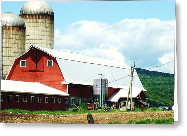 Old Farms Series 070 Greeting Card