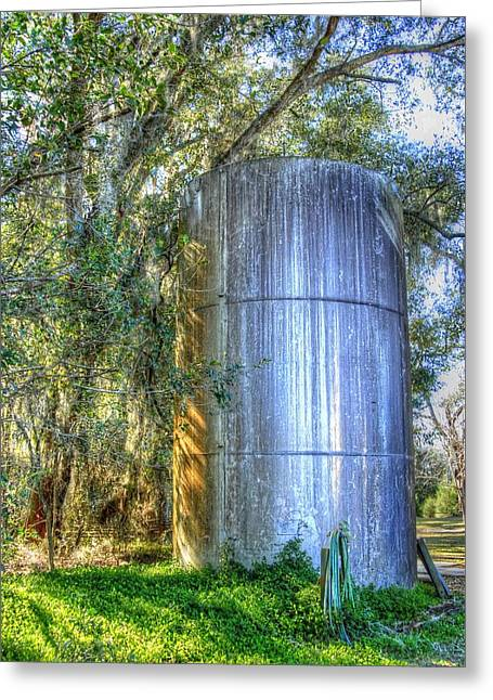 Old Fertilizer Tank Greeting Card