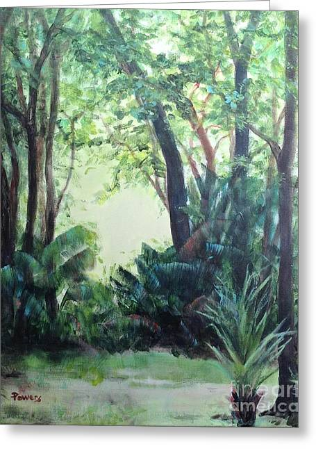 Old Florida 5 Greeting Card by Mary Lynne Powers