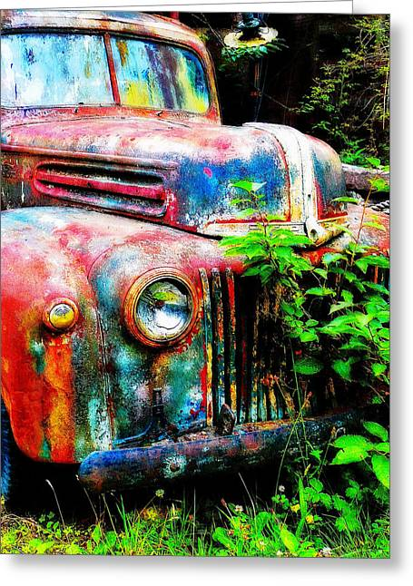 Old Ford #2 Greeting Card